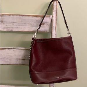 Rebecca Minkoff Maroon Bucket Bag